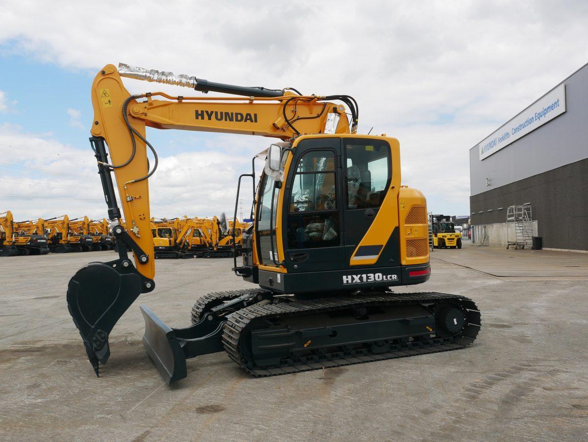 Hyundai Construction launches brand-new HX130 LCR crawler excavator
