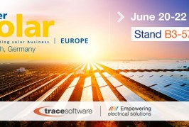 Trace Software exhibiting for a second year at Intersolar Europe