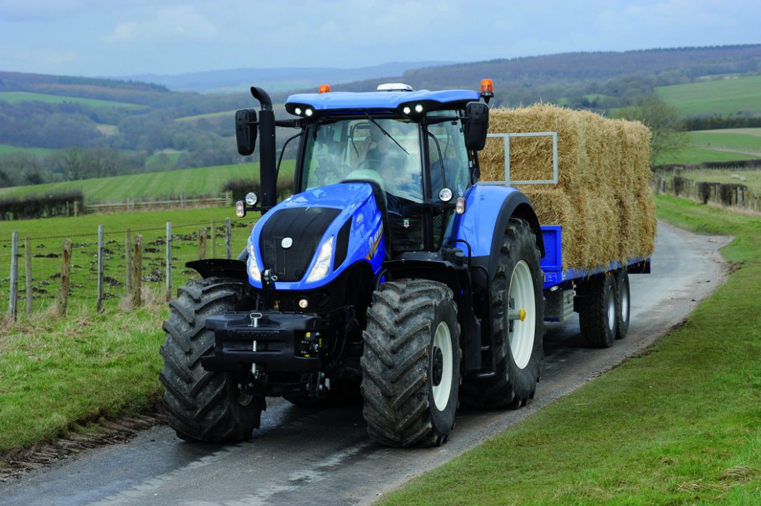 New Holland appointed official partner to the Goodwood Estate