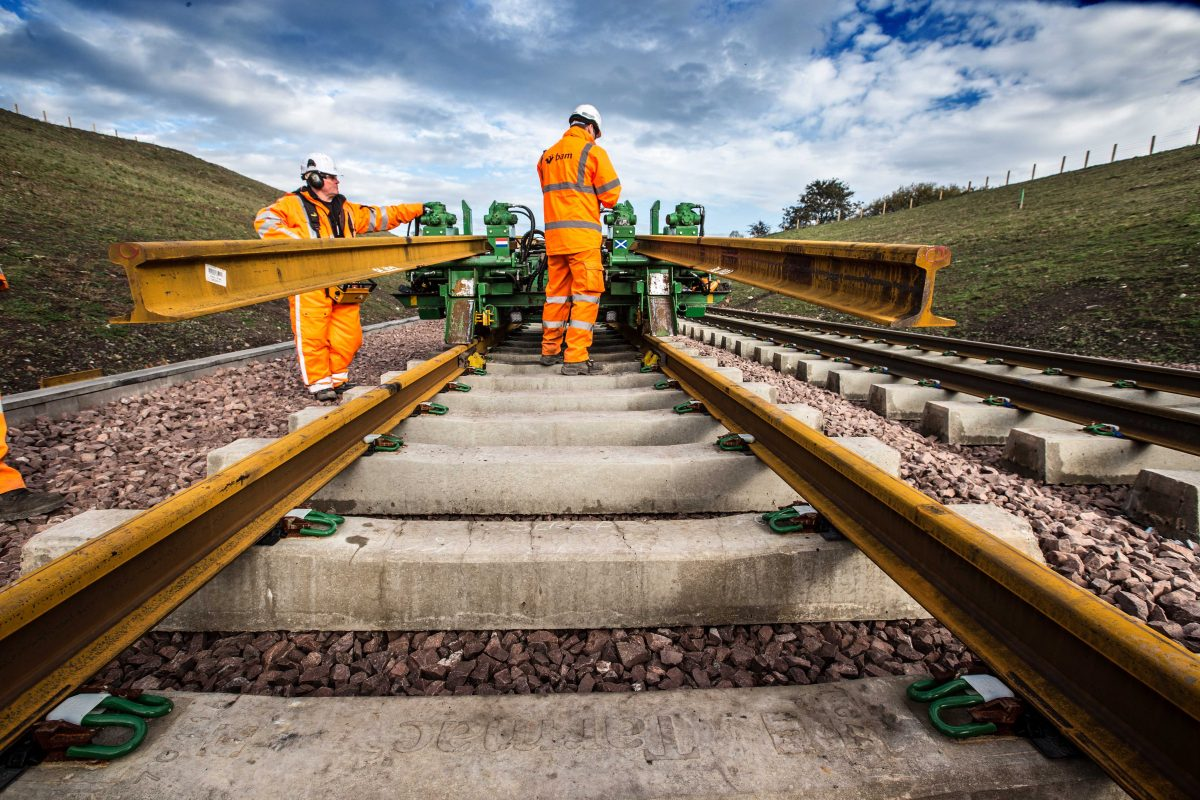 Network Rail launches tender for new 5 billion pound railway track alliances