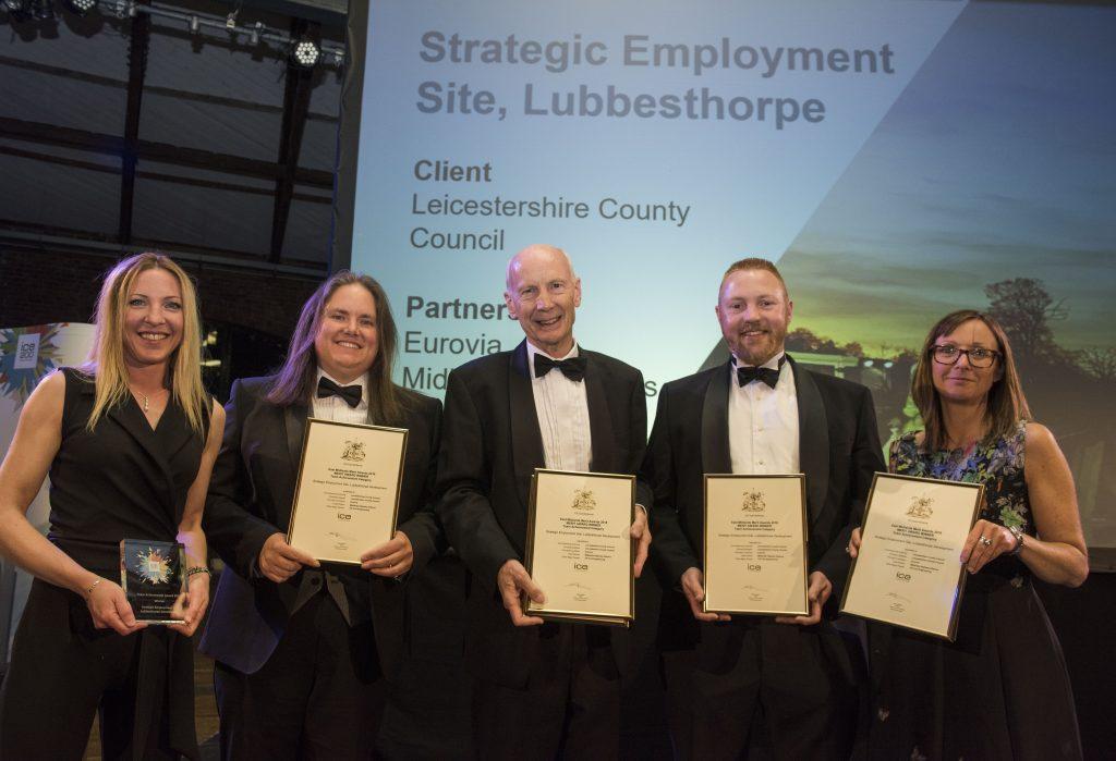 The winning Lubbesthorpe team