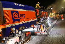 National Road Planing debuts high performance planer on M54 project