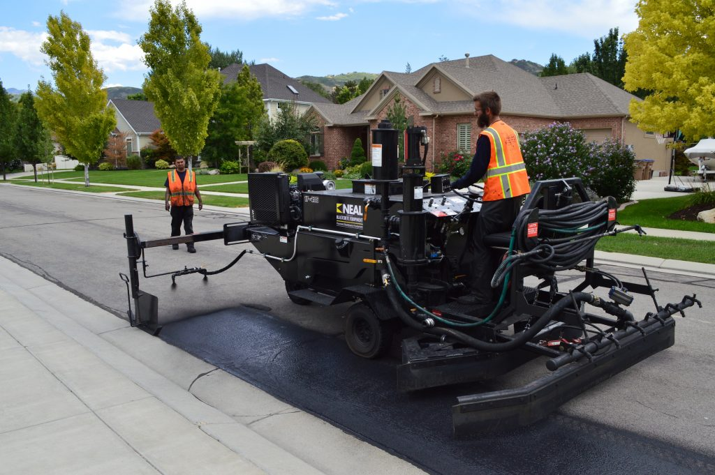 Neal Manufacturing introduces the Asphalt Road Preservation Sealcoating Package