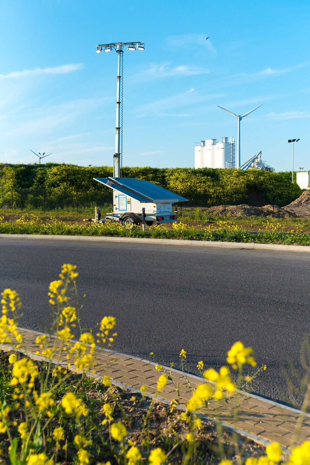 Highways England A14 Team lights up with Prolectric Solar lighting