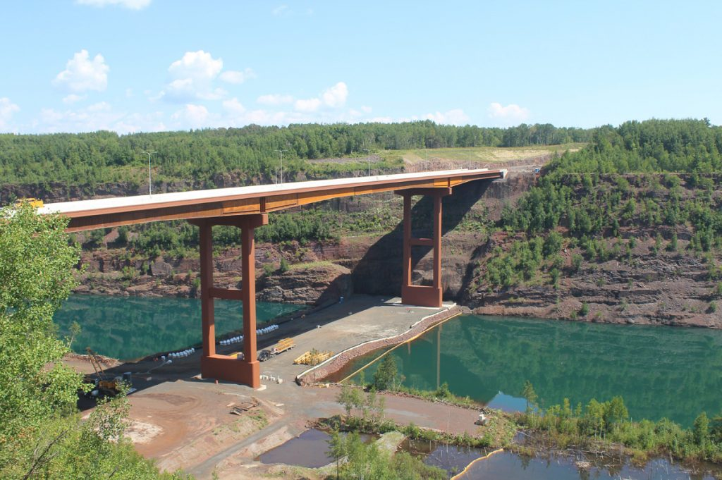 Parsons Rouchleau Mine Bridge project wins Diamond Partnering Award