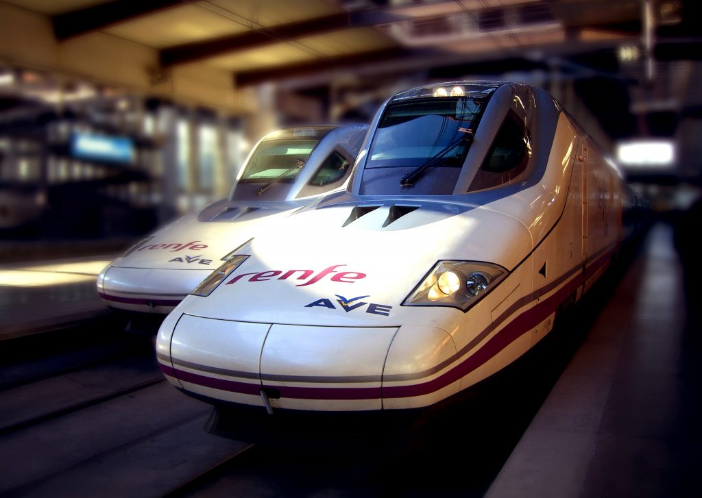Talgo Train - Photo by Mikel Ortega
