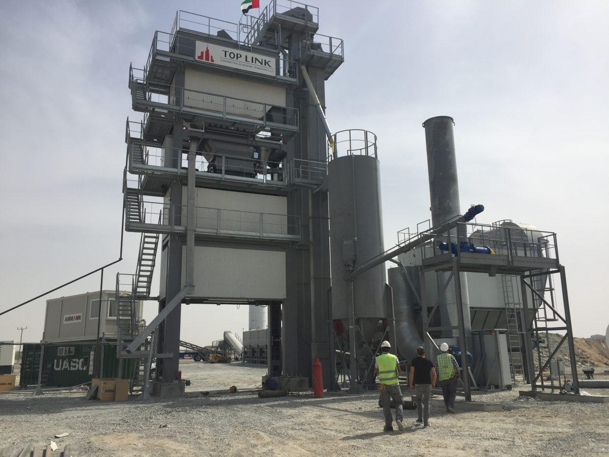 Ammann Asphalt Plant driving UAE road construction forward