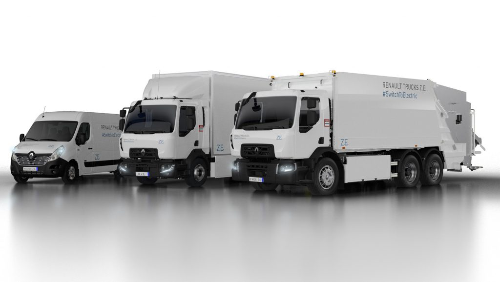 Renault Trucks unveils its second generation of electric trucks