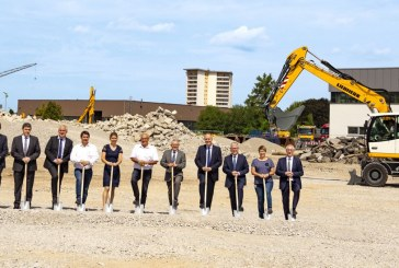 Liebherr breaks ground on new logistics centre to increase production