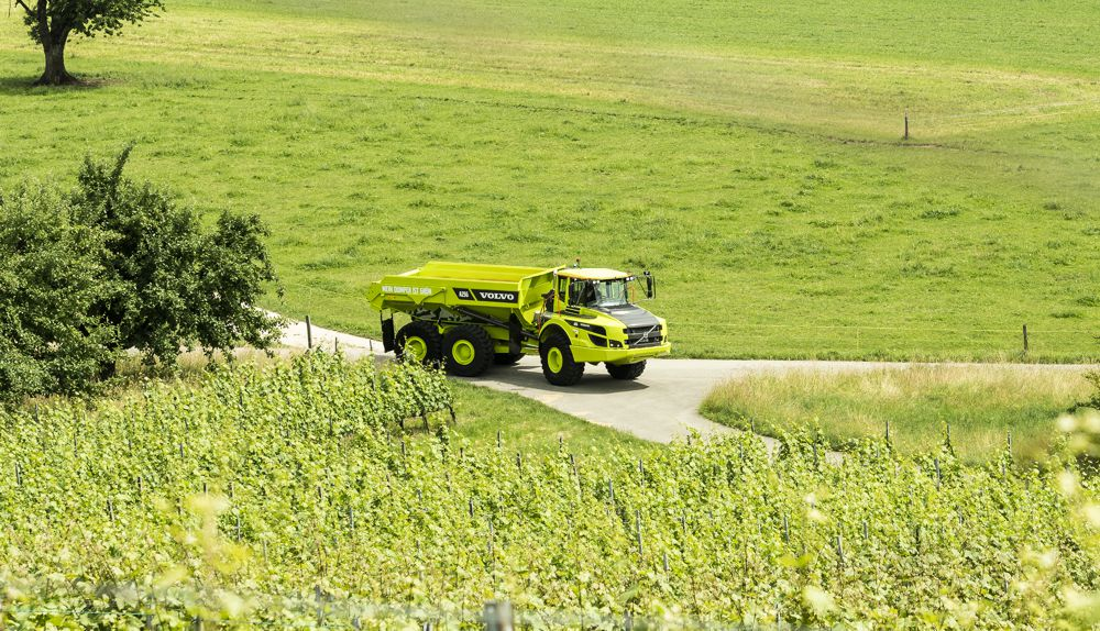 Volvo dealer goes Green with Carbon Neutral Articulated Haulers