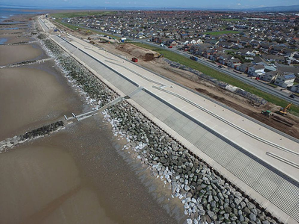 Balfour Beatty completes £63m Rossall Coastal Defence Scheme in UK