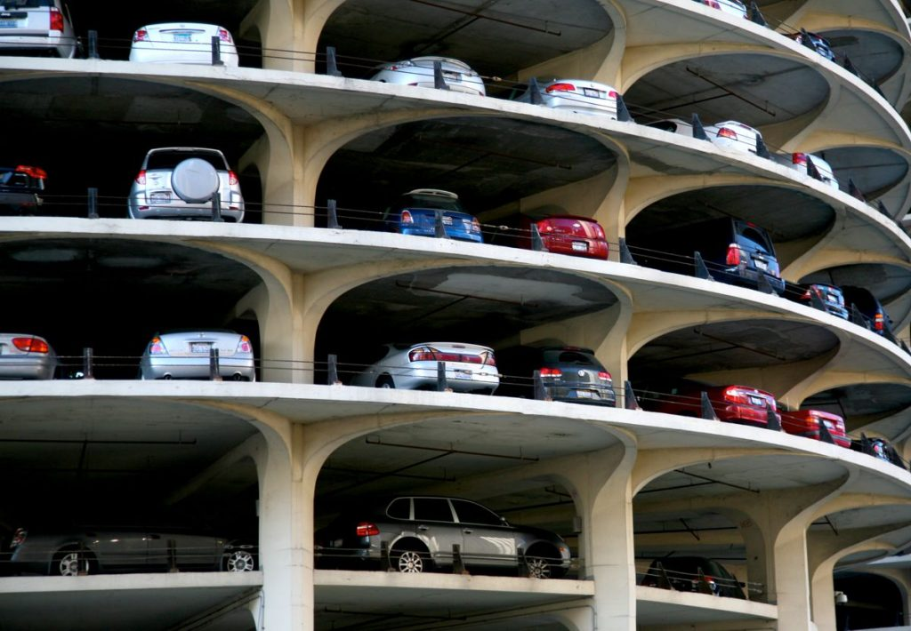 Chicage Car Park - Photo by Vincent des Jardins