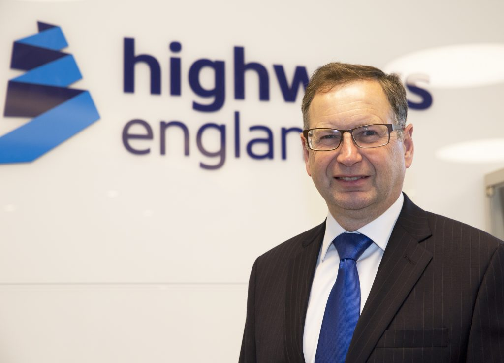 Jim O'Sullivan, Chief Executive of Highways England