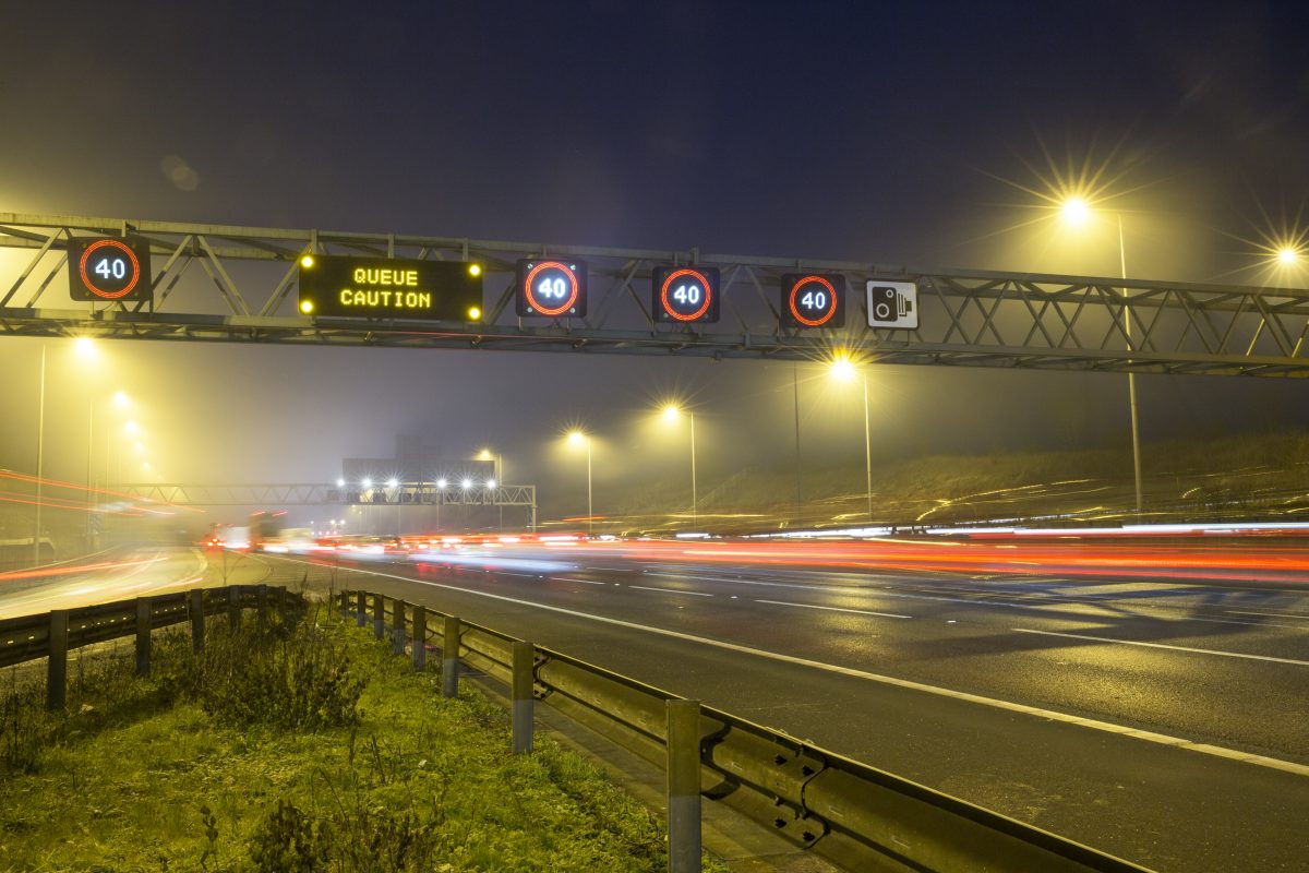 Smart thinking could improve driver safety perception of Britain's Smart Motorways