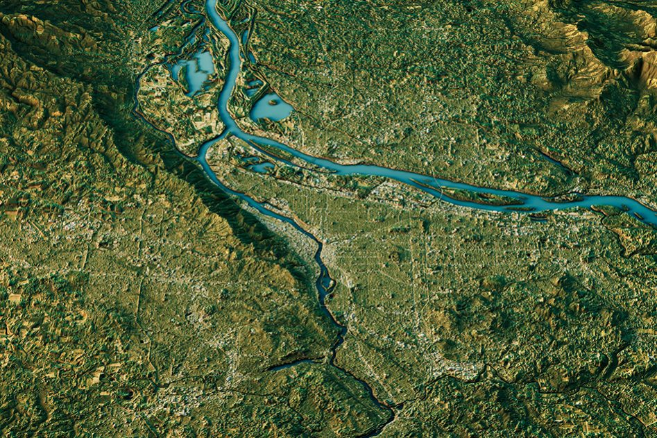 MIT Study finds climate determines the shape of river basins