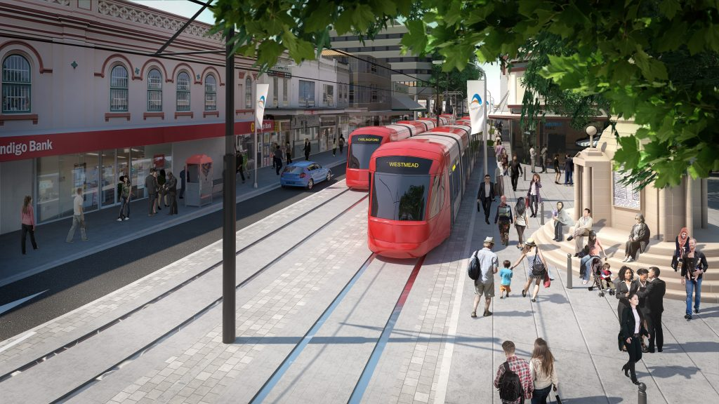 Parramatta Light Rail approved in Sydney