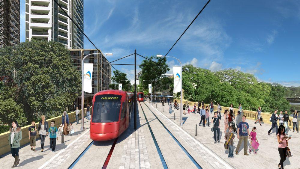 Parramatta Light Rail approved in Sydney