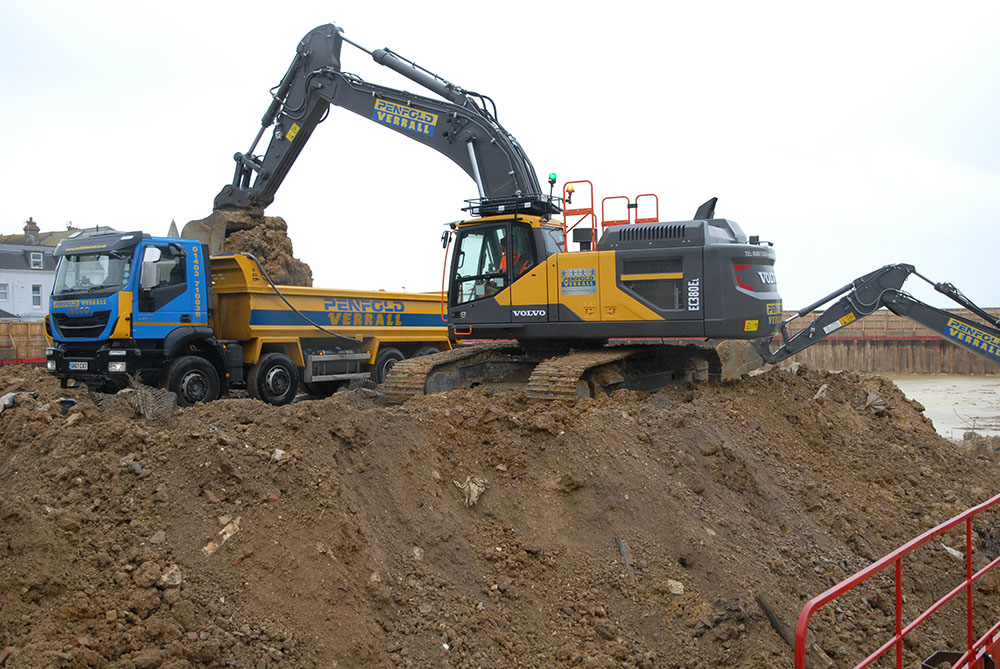 Penfold Verrall add some Volvo muscle to their excavator fleet