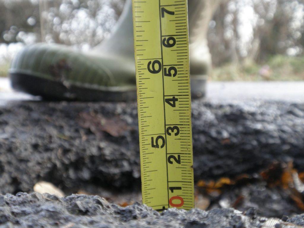 Pothole - Photo by Amanda Slater