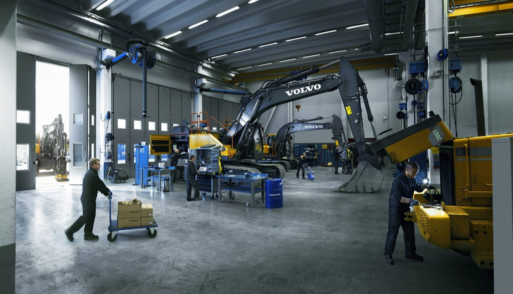 Until the industry transitions to new innovations, smart design is being implemented in all Volvo CE's current product offering