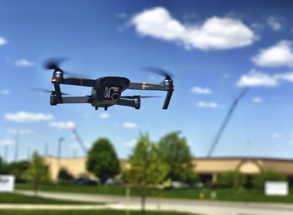 Drones are set to be one of the largest markets in construction.