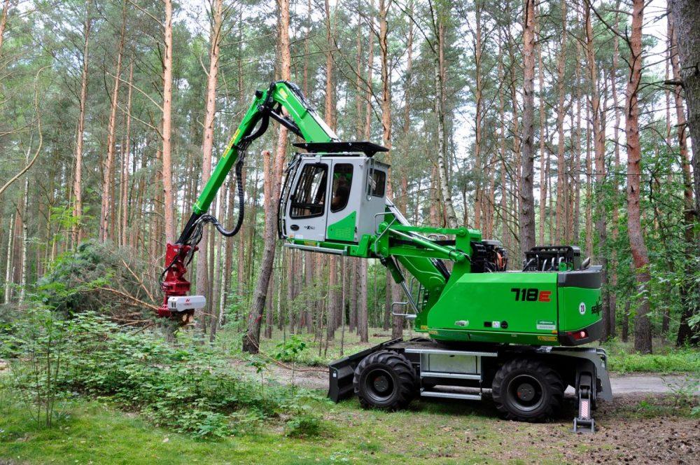 SENNEBOGEN timber harvesting solutions at Interforst in Munich