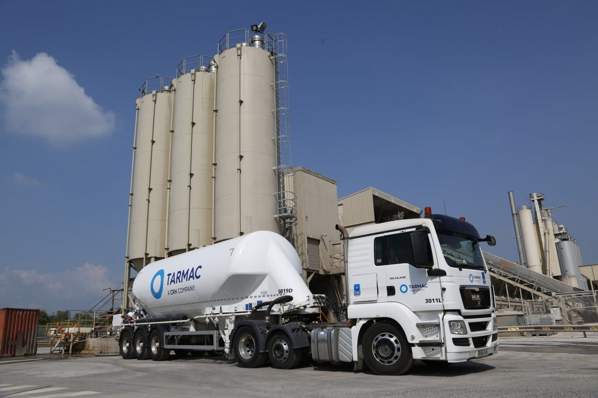 Tarmac moves to a regional transport model for cement hauliers
