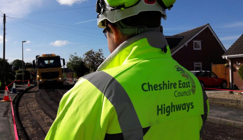 Yotta's Horizons helps drive enhanced asset management for Cheshire East Highways