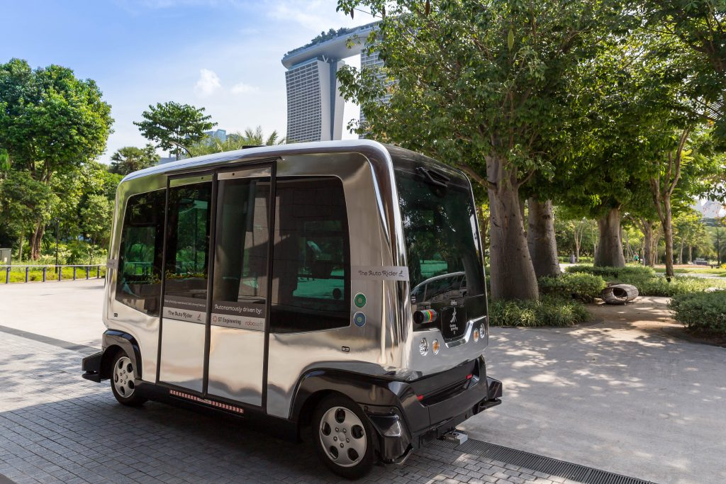 Autonomous Bus - Photo by Marco Verch