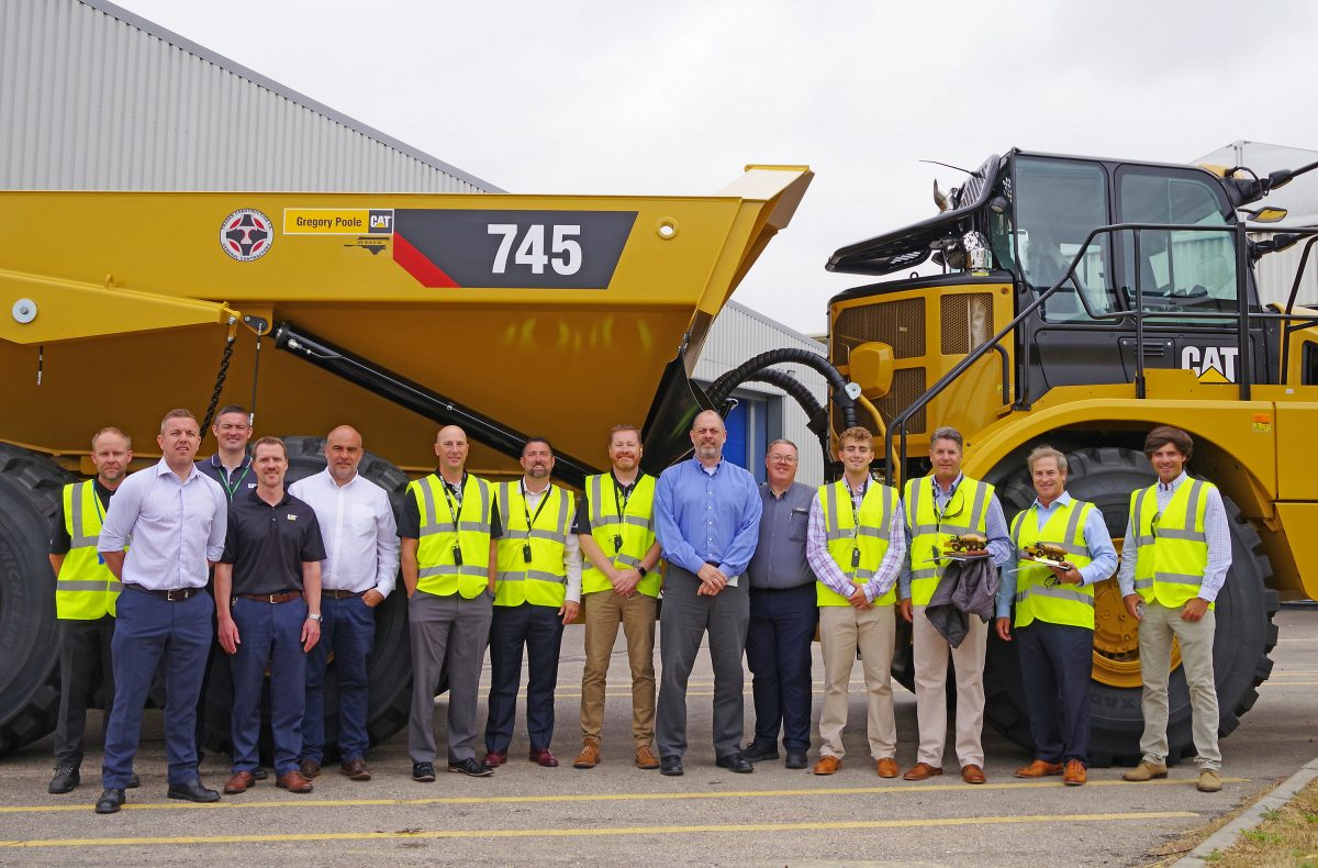 Caterpillar delivers 50,000 Articulated Trucks