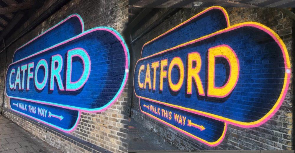 Catford murals
