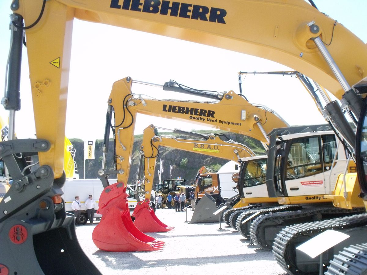 UK Construction Equipment sales show further growth in Q2 2018
