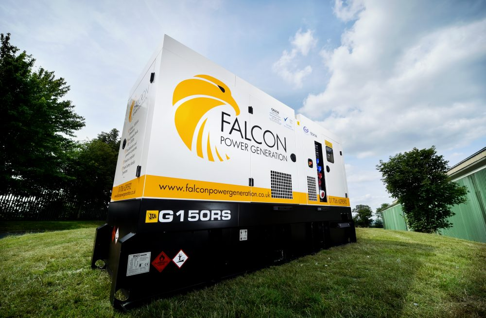 Falcon Tower Crane Services invests in JCB Generators
