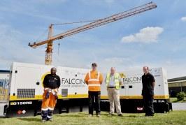 Falcon Tower Crane Services invests in JCB Generators