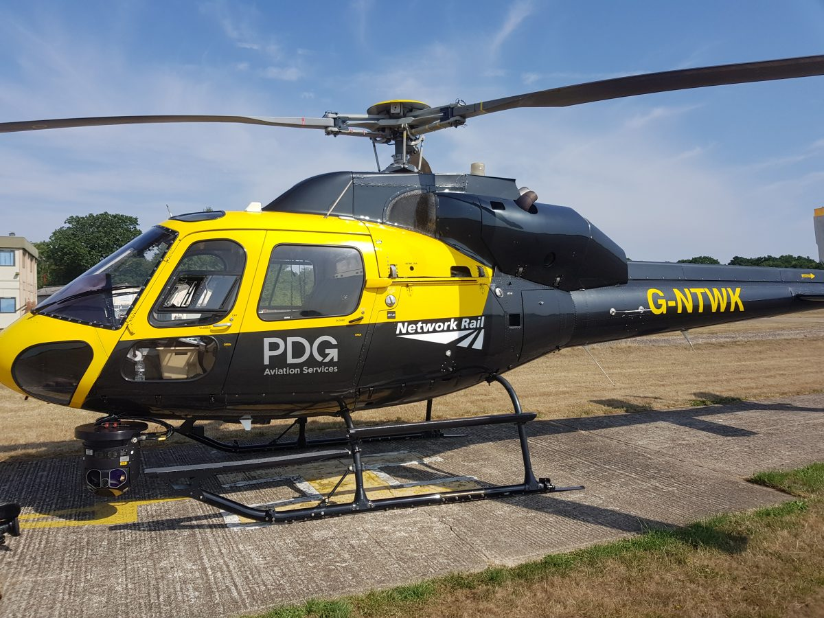 Eye in the sky set to provide a better railway for passengers in Southern England
