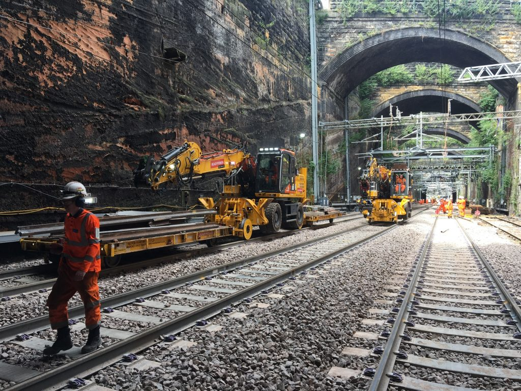 Track works - Liverpool Lime Street eight week transformation