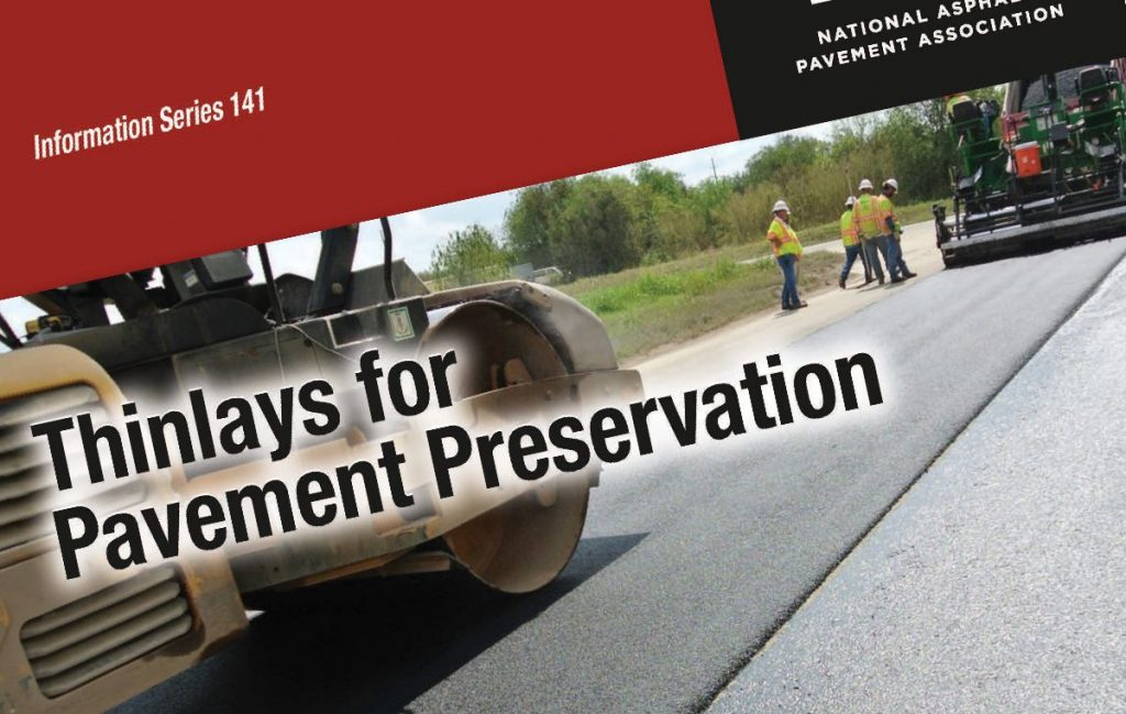 New Publication Provides Guidance on the Use, Design, and Construction of Thinlay Asphalt Overlays for Pavement Preservation