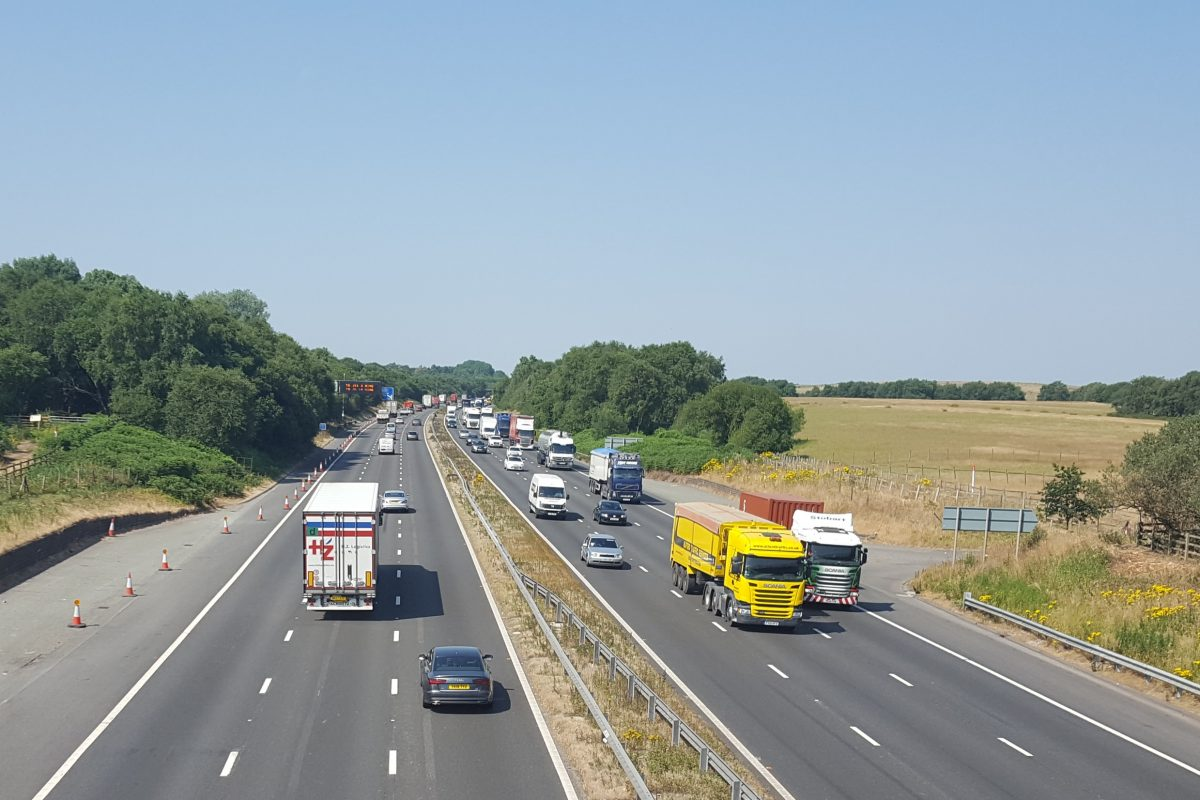 Smart motorway work set to increase Britain's M62 capacity by a third