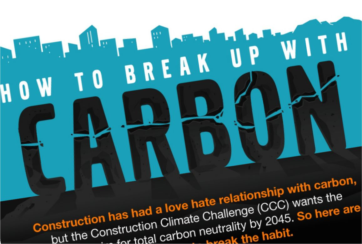 Construction Climate Challenge helps the construction industry break up with carbon