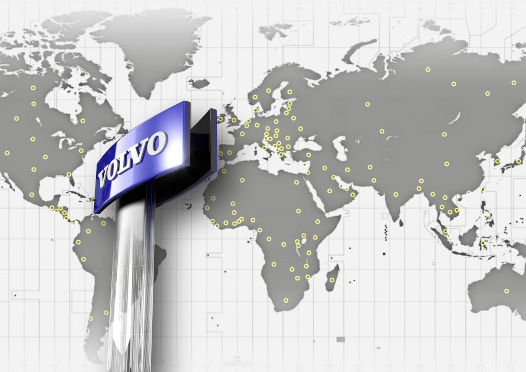 Volvo CE delivers spare parts to all corners of the globe