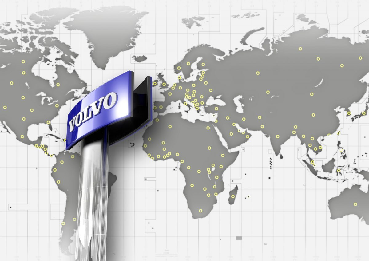 Volvo Construction's five rules of Global Distribution