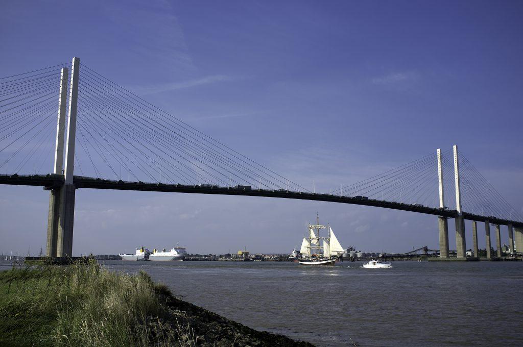 QE2 Bridge - Photo by Chris Barber
