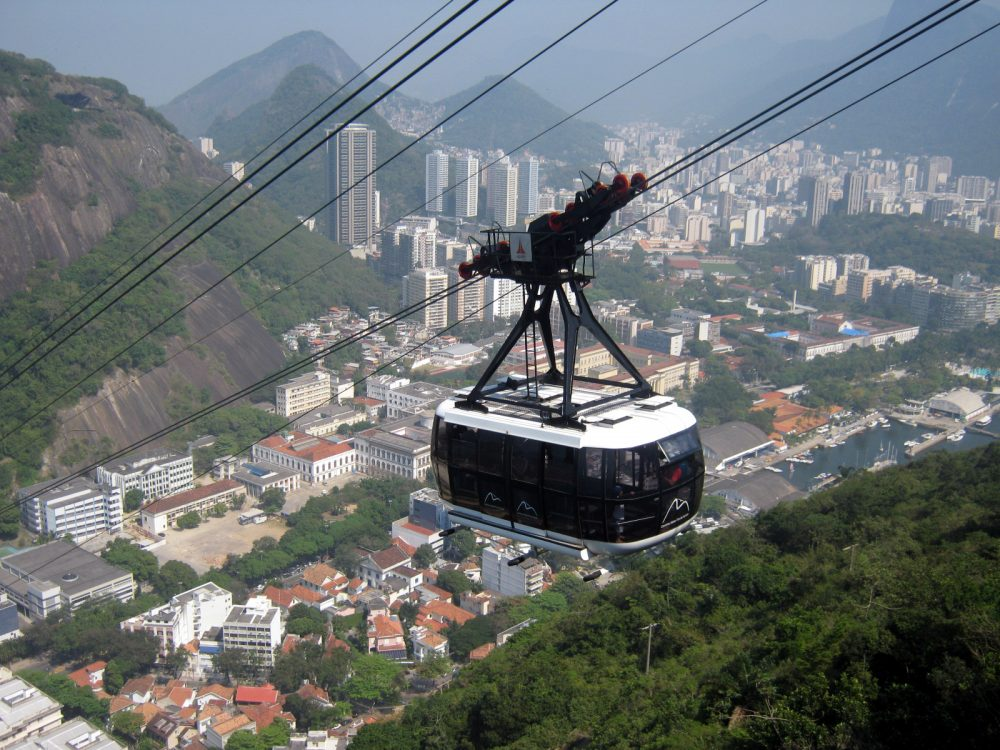 Rio Cable Car - Photo by Jorge Brazilian