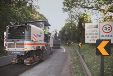 Wirtgen W200 rehabilitates Brazil's congested road network