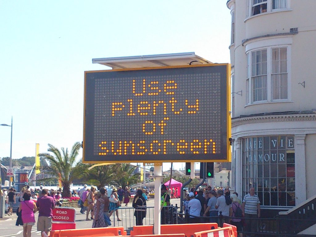 Use Sunscreen VMS Sign - Photo by Alex Liivet
