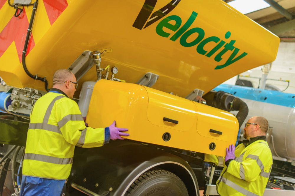 Velocity's machines are designed and manufactured in Sunderland