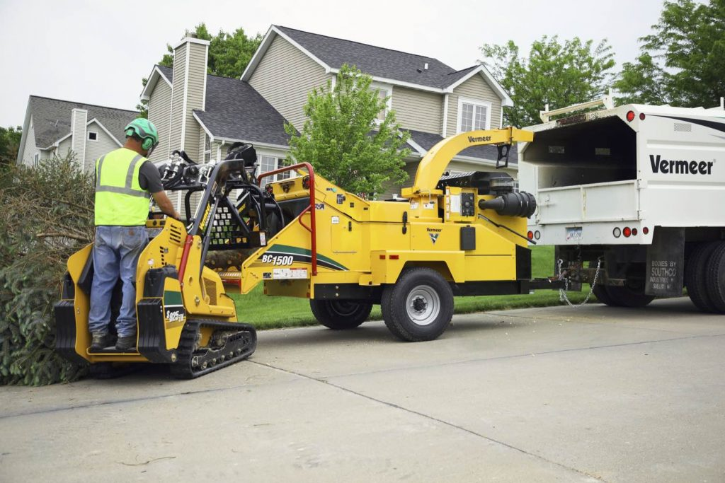 Vermeer introduce new BC1500 Gas Brush Chipper