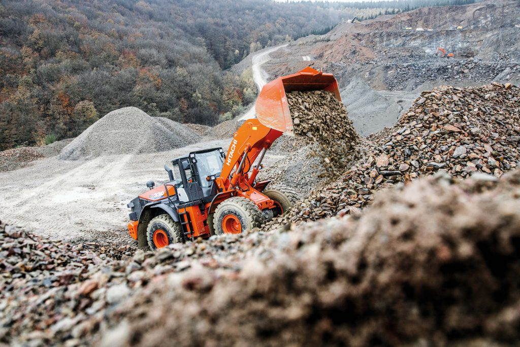 New Hitachi ZW330-6 wheel loader tackles the toughest working conditions