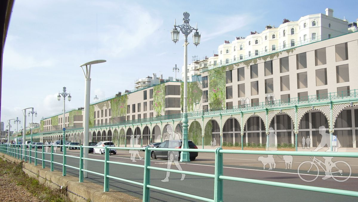 Boxpark reveal plans to revive Brighton's iconic beachfront