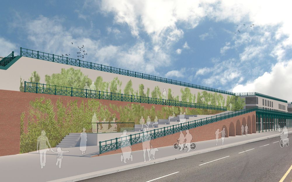 Brighton based retail and leisure development specialists bid to return Madeira Terrace to former glory